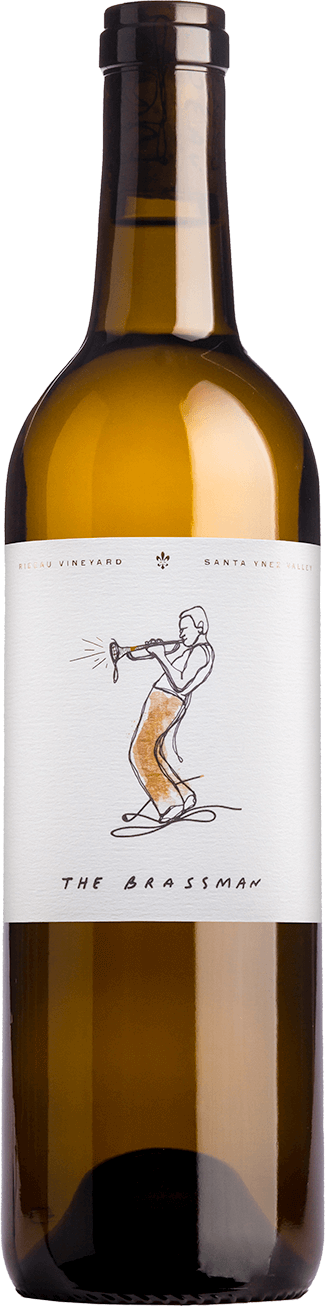 "Bottle of 2016 White Blend ""The Brassman"""