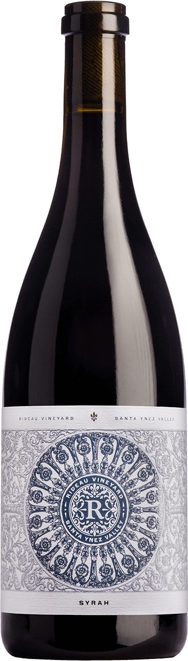 Bottle of 2016 Syrah