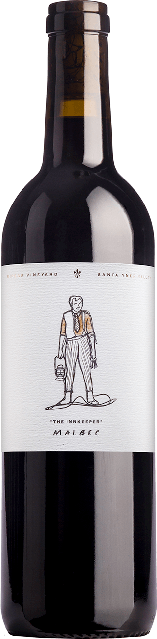 "Bottle of 2015 Malbec ""The Innkeeper"""