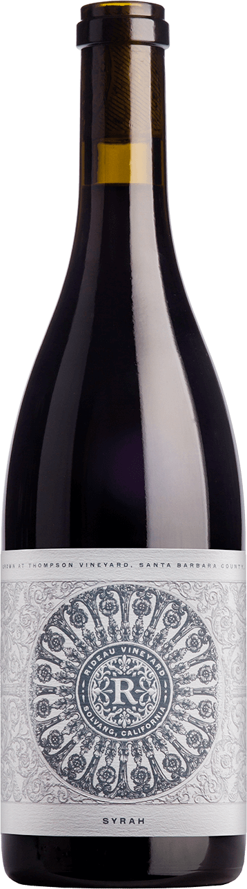 Bottle of 2014 Thompson Syrah