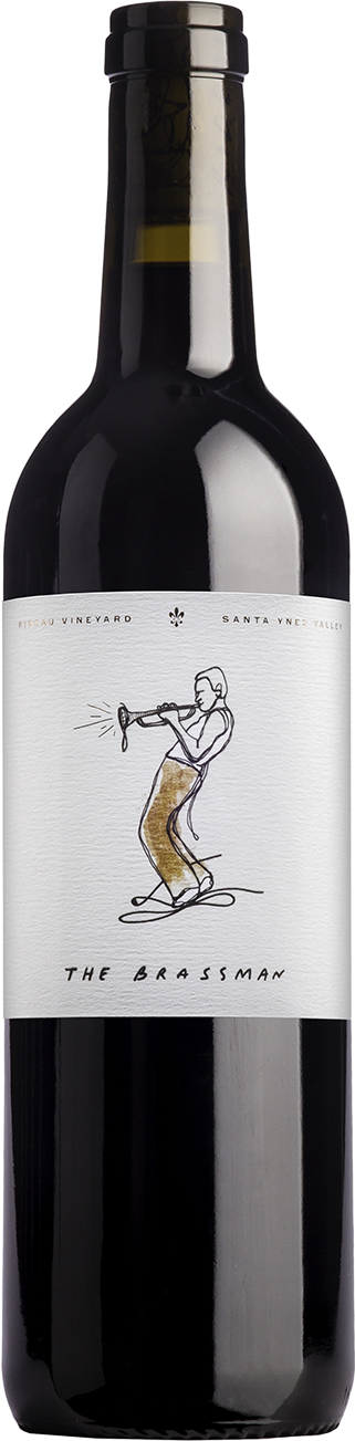 Bottle of 2015 Red Blend